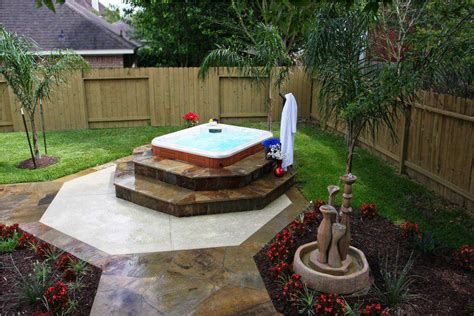 tub backyard 24 fancy small backyard ideas with tub izvipi
