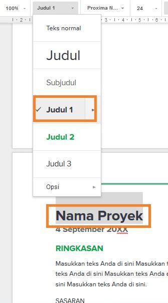 cara membuat daftar isi i cara membuat daftar isi otomatis di google docs dailysocial