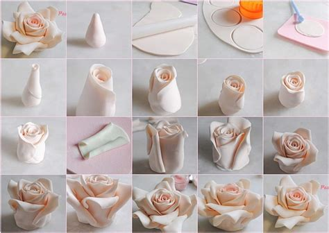 How To Fondant Decorations by Decorate Your Cakes With These Beautiful Fondant Roses