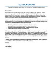 Cover Letter Example Of Teacher Teacher Cover Letter Examples Education Sample Cover