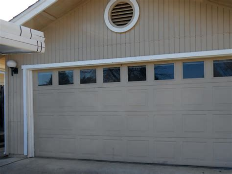 Garage Doors In Sacramento by Repair Dented Ripped Garage Door In Sacramento Garage
