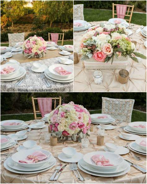 Dekoration Hochzeit Hochzeitsfarben Romantisch Hochzeit In Rosa Inspiration