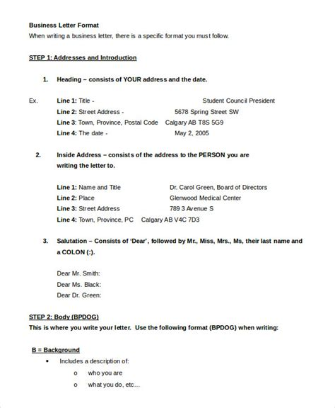 layout personal letter personal letter format 10 free word pdf documents