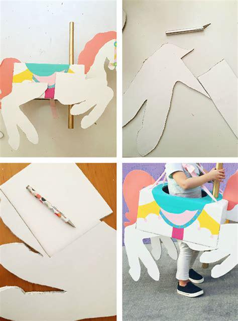 carousel horse costume diy  joyful riot