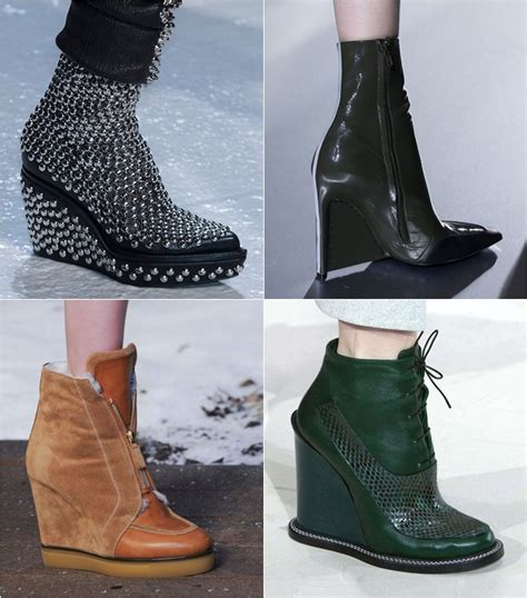 ankle low boots 2014 2015 fall winter fashion trends
