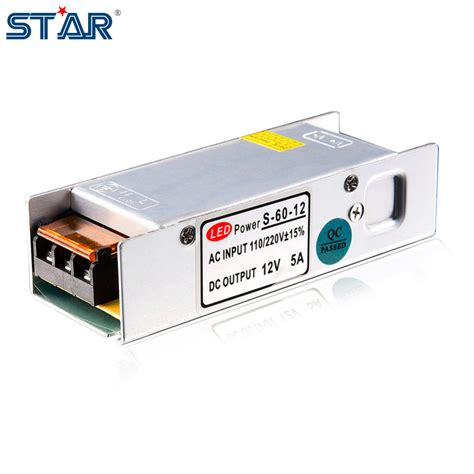 Power Supply Well Led Driver Plp 60 led power supply 12v 5a 60w led driver power adapter