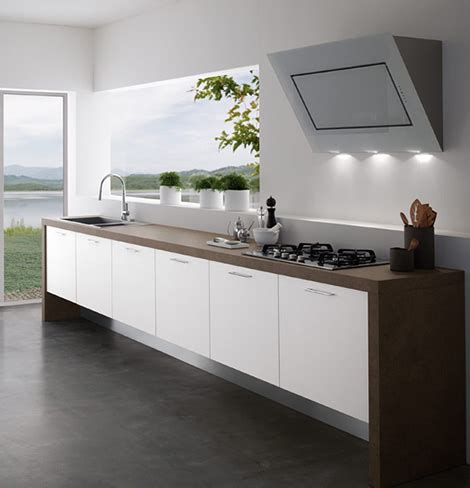 modern kitchens  upper cabinets  treo
