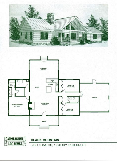 Log Cabins Designs And Floor Plans by Log Home Floor Plans Log Cabin Kits Appalachian Log Homes