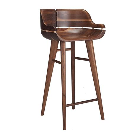 bar stools for commercial use organic modernism kurf bar stool modern bar stools for your kitchen online or in store