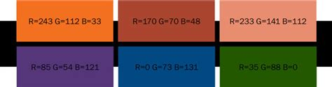 best color with orange flat design e le tendenze colore unicom blog