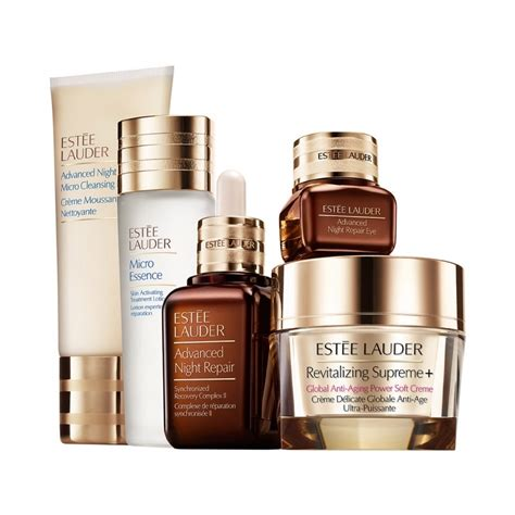 Produk Estee Lauder estee lauder nightly skincare experts set beautyfresh