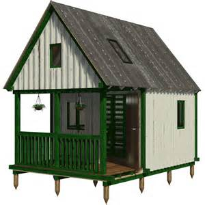Machine Shed House Floor Plans by Camping Cabin Plans
