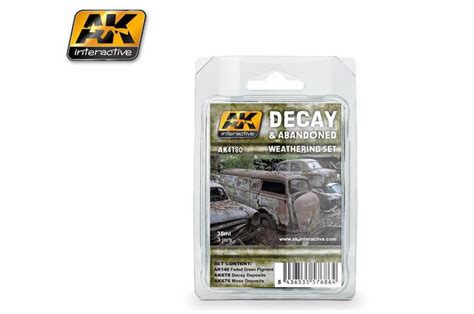 Ak675 Decay Deposits For Abandoned Vehicles ak interactive decay and abandoned weathering set panzer models