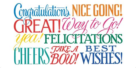 house designer com ways to say congratulations card achievement by brookhollow