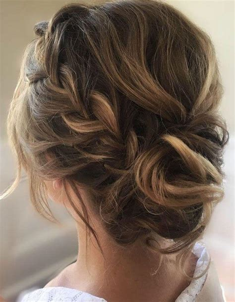 wedding up dos with a crown this crown braid with updo wedding hairstyle perfect for
