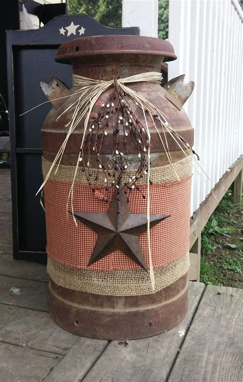 christmas milk can ideas pinterest diy country crafts find craft ideas