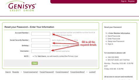 genisys bank genisys credit union banking login login bank