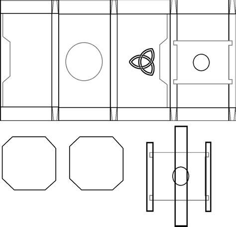 Origins Builds Thor Hammer Printable Template