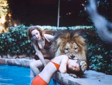 lion film melanie griffith the shocking madness of roar melanie griffith mauled