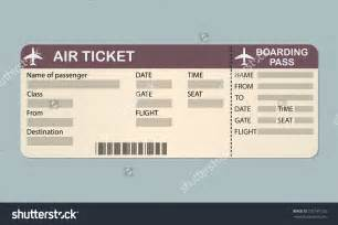 Boarding Ticket Template by Boarding Pass Clipart 52