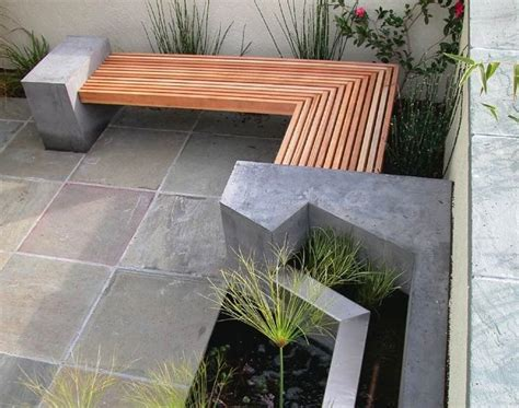 how to make a cement bench outdoor concrete and timber bench make it yourself