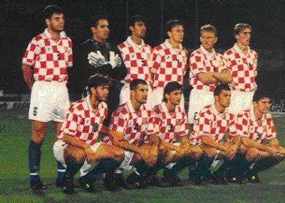 Kaos National Football Croatia 01 soccer nostalgia team photographs part 6