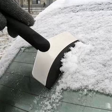 steel and snow auto car vehicles ice scraper snow shovel window ice removal cleaning tool stainless steel