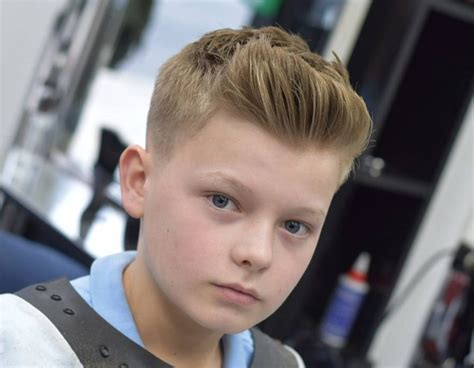 These cool hairstyles for boys make the most of the thick hair