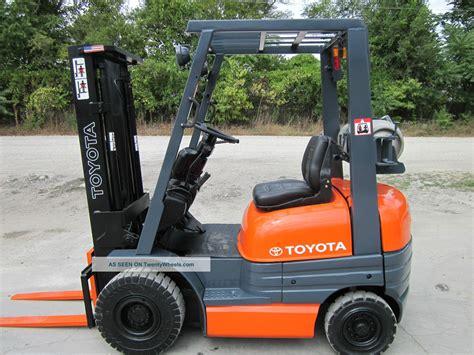Toyota Lift Trucks Toyota 42 6fgu15 Forklift Lift Truck Hilo Fork