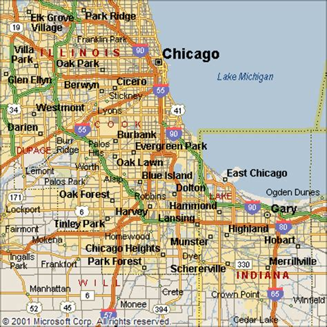 chicago map chicago and surrounding suburbs maps quotes