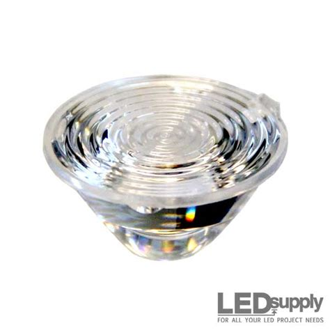 led len 10209 carclo lens ripple wide spot led optic