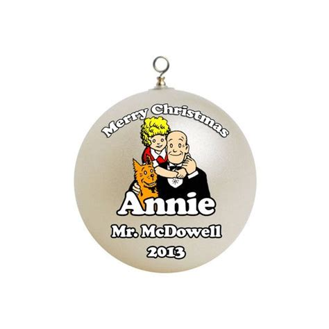 personalized little orphan annie ornament custom gift 2