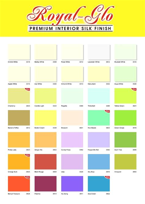 royal paint color chart pictures to pin on pinsdaddy