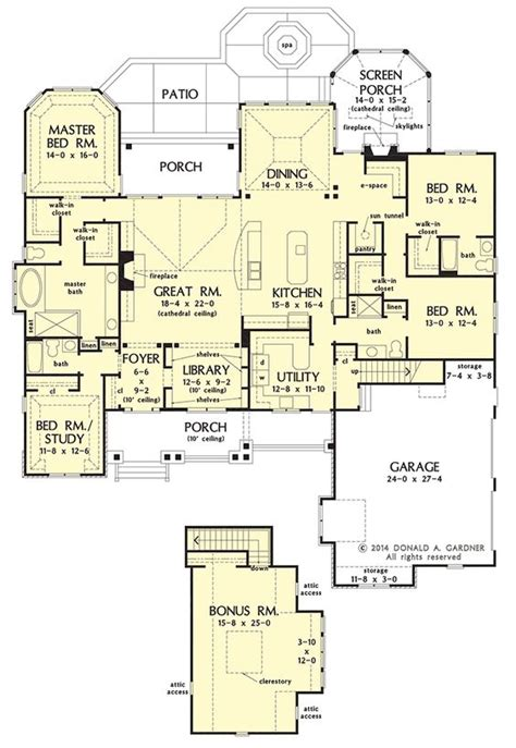 nice floor plans craftsman house plan on the drawing board 1409