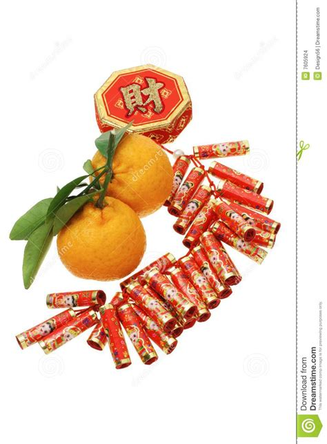 new year gift oranges new year ornament and mandarin oranges stock