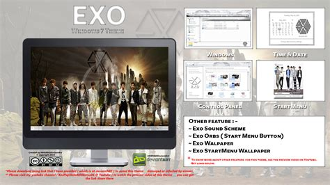 kpop theme exo 2013 theme exo kpop for windows 7 by hkk98 on deviantart