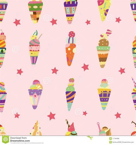 seamless pattern ice seamless ice cream pattern royalty free stock image