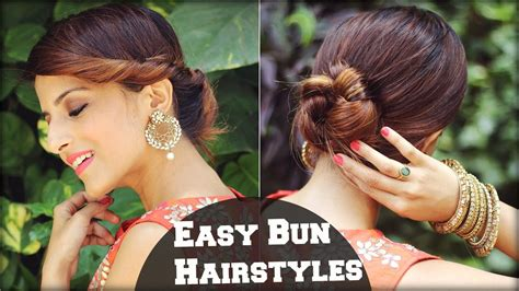 Simple Indian Wedding Hairstyles For Medium Hair