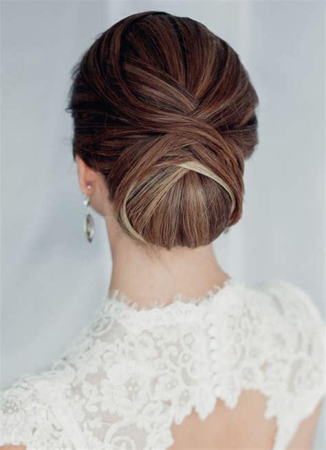 classic wedding hairstyles le chignon de mariage la tendance melle cereza