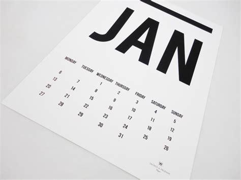 calendar design guidelines modern minimal downloadable calendars for 2014 design