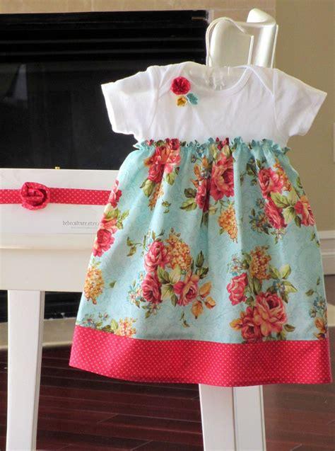 shabby chic baby gifts shabby chic dress teal baby onesie dress baby gift