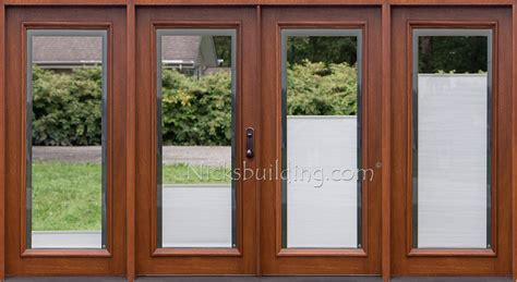 wooden patio door blinds blinds between glass
