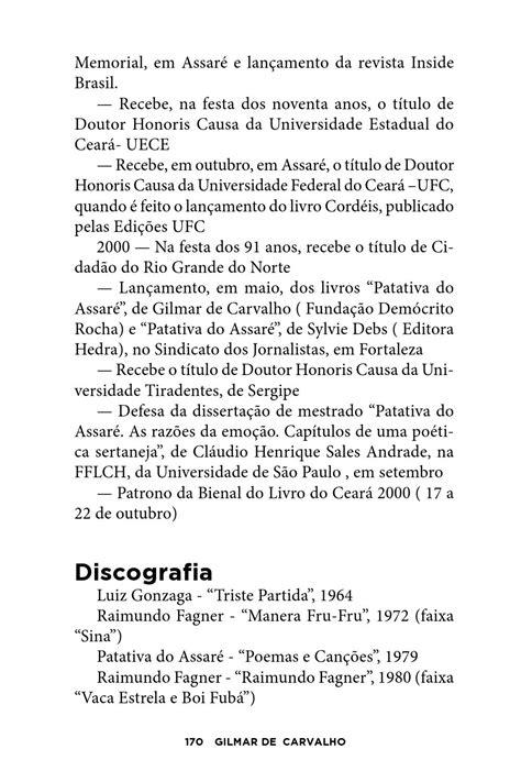 Patativa poeta pássaro do assaré by Omni Editora - Issuu