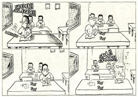 Komik Fantasteen 1hantu Di Sekolah sebuah catatan tentang komik rada lucu guru berdiri murid berlari jurnal grafisosial