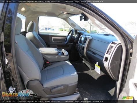 Ram Tradesman Interior by Black Diesel Gray Interior 2013 Ram 1500 Tradesman