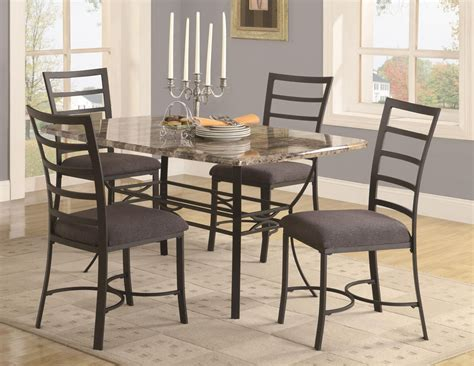 Metal Dining Room Table Sets Metal Dining Room Table And Chairs Alliancemv