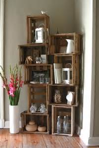 Crates As Bookshelves Crate Bookcase For The Home Pinterest