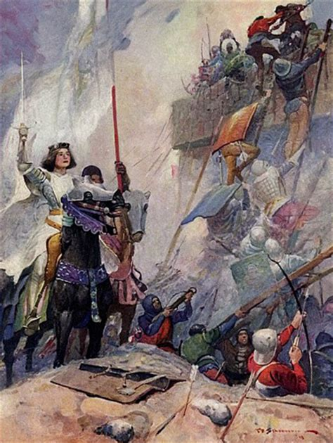 the siege of orleans joan of arc of heaven painting of joan of arc at
