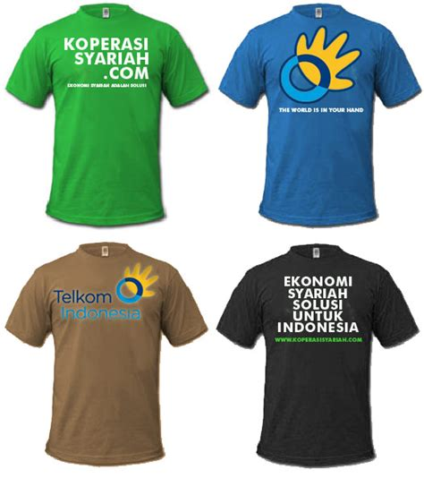Kaos Baju T Shirt Oblong Islam 10 contoh sketsa baju kaos wo ternyata