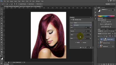 photoshop hair color photoshop cs6 change hair color
